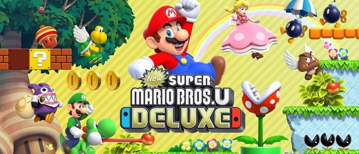 New Super Mario Bros U Deluxe Mis En Boîte Sur Nintendo