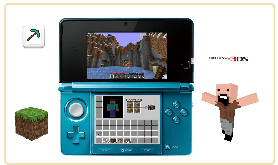 DS Minecraft Portablegamingde - Minecraft spiele fur nintendo
