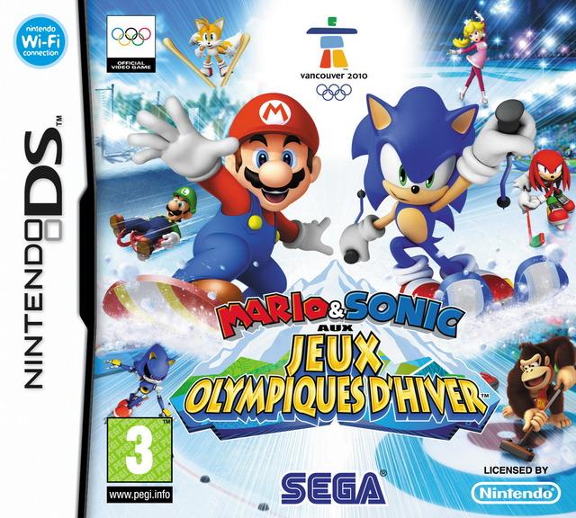 [Nintendo DS] Mario & Sonic aux Jeux Olympiques d'Hiver