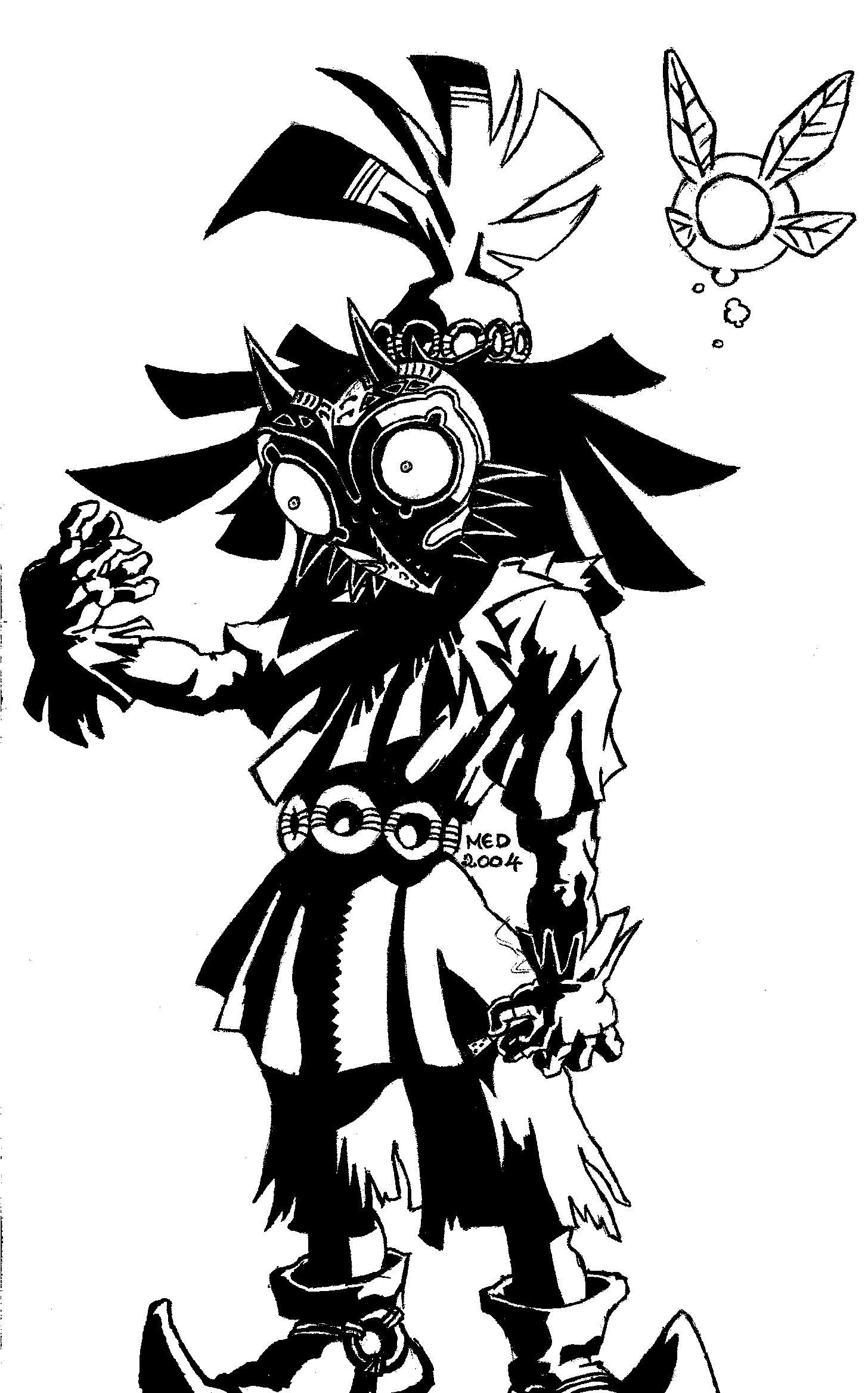Gribouillis The Legend Of Zelda Majora S Mask Blog De Mookie